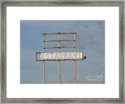 Framed Print featuring the photograph Open 24 Hours by Michael Krek