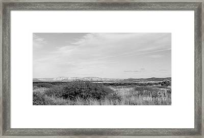 Open Air Framed Print