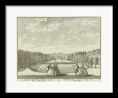 Open Air Theater Drawings Framed Prints
