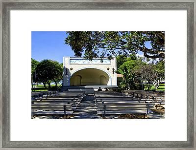 Open Air Theater Pt Fermin Framed Print by Joseph Hollingsworth