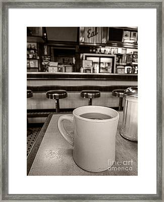 Open All Night Framed Print
