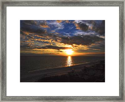 Open Balcony Framed Print