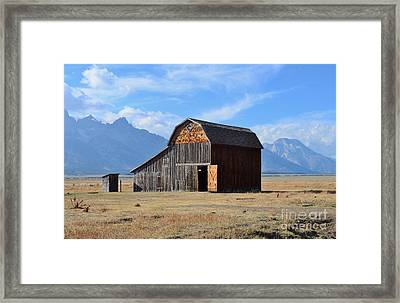 Open Door Colored Version Framed Print by Kathleen Struckle