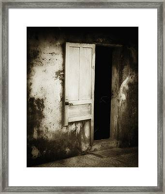 Open Door Framed Print by Skip Nall