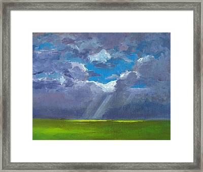 Open Field Majestic Framed Print by Patricia Awapara