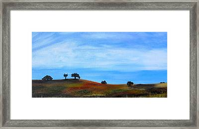 Open Field Framed Print by Melissa Torres