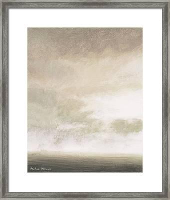 Open Gray Sky II Framed Print