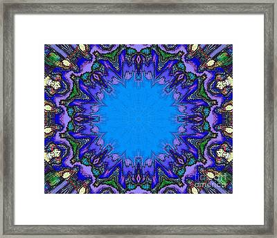Open Heart - Digital Art Framed Print by Robyn King