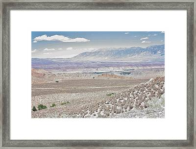 Open Lands Framed Print