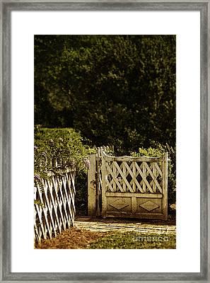 Open Framed Print by Margie Hurwich