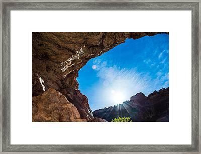 Open Promise Framed Print