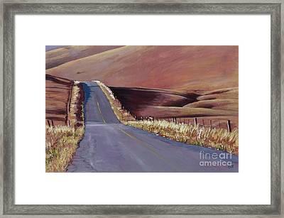Open Road Framed Print