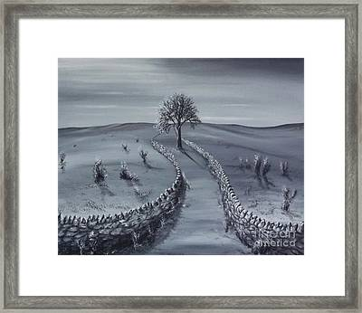 Open Road Framed Print by Kenneth Clarke