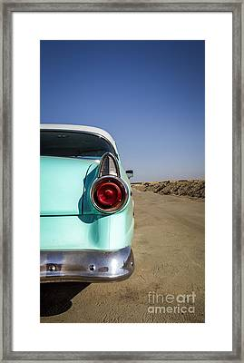 Open Road- Metal And Speed Framed Print by Holly Martin