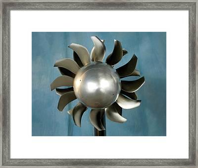 Open Rotor Engine Framed Print