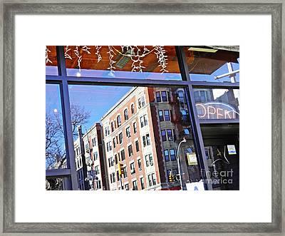 Open Framed Print by Sarah Loft