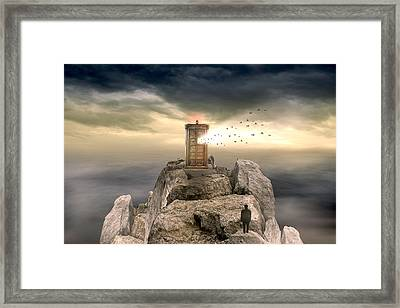 Open Sea Framed Print by Mark Ashkenazi