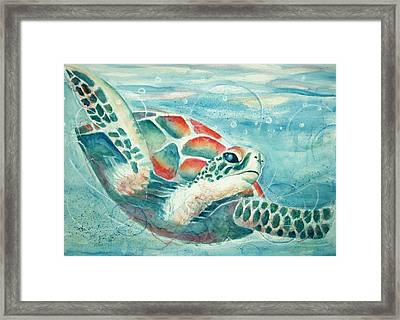 Open Seas Framed Print by Joanna Gates