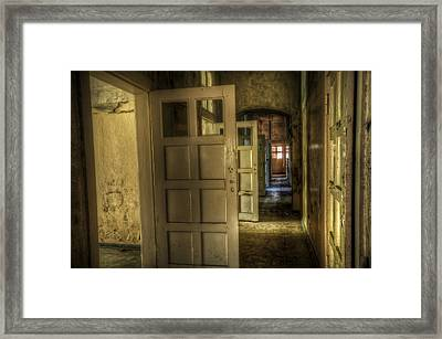 Open Side Framed Print by Nathan Wright
