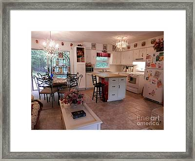 Open Spaces At Home Framed Print