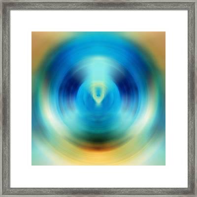 Open Spirit - Energy Art By Sharon Cummings Framed Print by Sharon Cummings