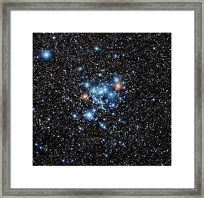 Open Star Cluster Ngc 3766 Framed Print by European Southern Observatory