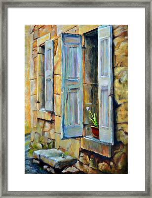 Open The Door Framed Print by Maxx Phoenixx