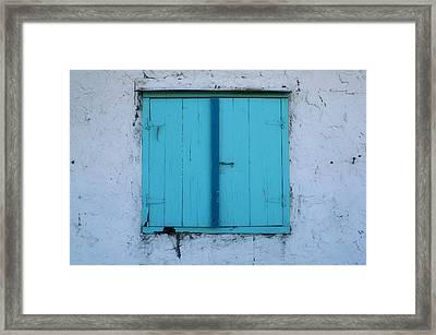 Open Soon Framed Print by Paulette Maffucci