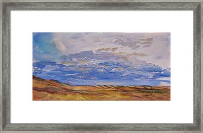 Looking Northwest Framed Print by Helen Campbell