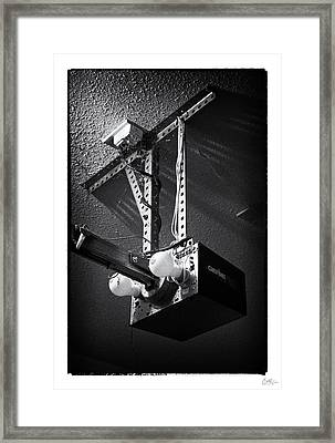 Open Up - Art Unexpected Framed Print
