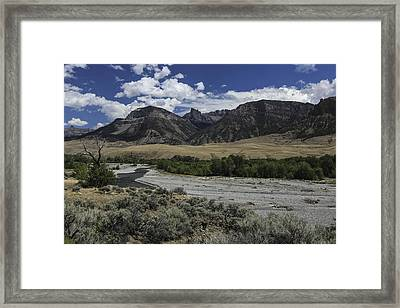 Open Valley Framed Print