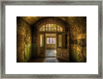 Open View  Framed Print