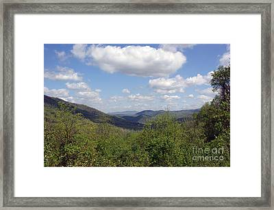 Open Vista Framed Print by Roger Potts