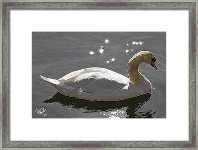 Open Water Ahead Framed Print by Brien Miller