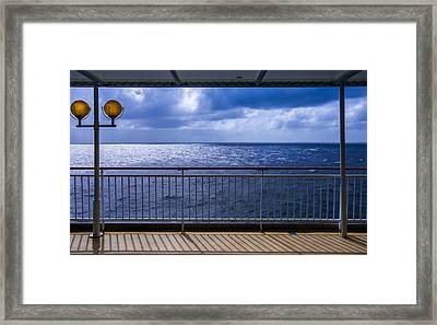 Open Waters Framed Print