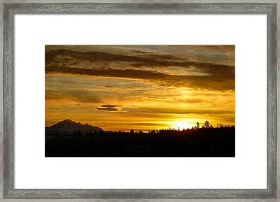 Open Your Heart Framed Print by Jordan Blackstone
