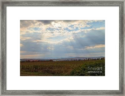 Opened Sky Framed Print by Charles Kozierok