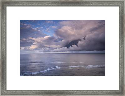 Opening Clouds Framed Print