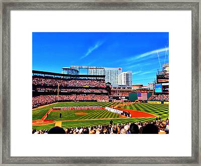 Opening Day 2014 In Baltimore Framed Print