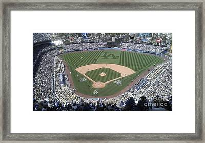 Opening Day Upper Deck Framed Print by Chris Tarpening