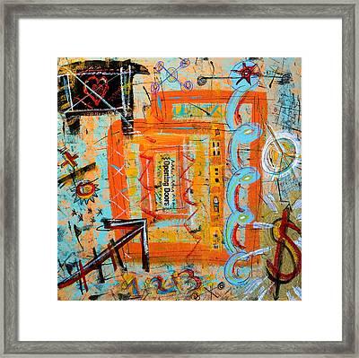 Opening Doors Framed Print by Debra Jacobson