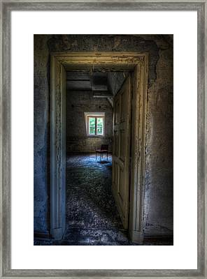 Opening For One Framed Print by Nathan Wright
