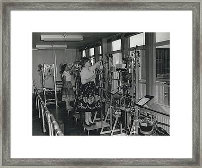 Opening Of The Warren Spring Laboratory... Research Into Framed Print by Retro Images Archive