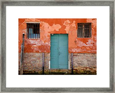 Framed Print featuring the photograph Openings by Uri Baruch