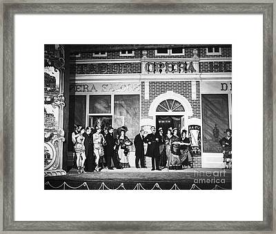 Opera: Baby Doe, 1956 Framed Print by Granger