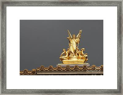 Opera De Paris Framed Print by Mary-Lee Sanders