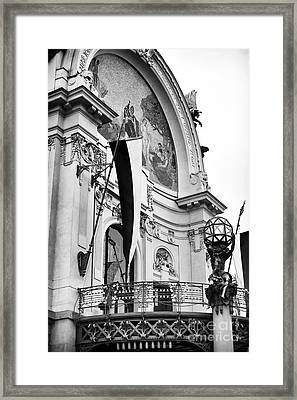 Opera House Balcony Framed Print by John Rizzuto
