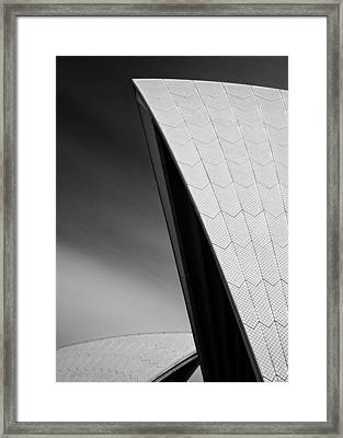 Opera House Framed Print by Dave Bowman