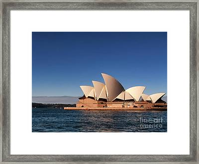 Opera House Framed Print by John Swartz