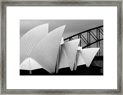 Opera House Sydney Framed Print